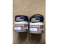 Dulux Endurance+ paint. 2 x 2.5 litre sweet pink.