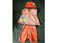 Baby girl 3-6 month summer outfit