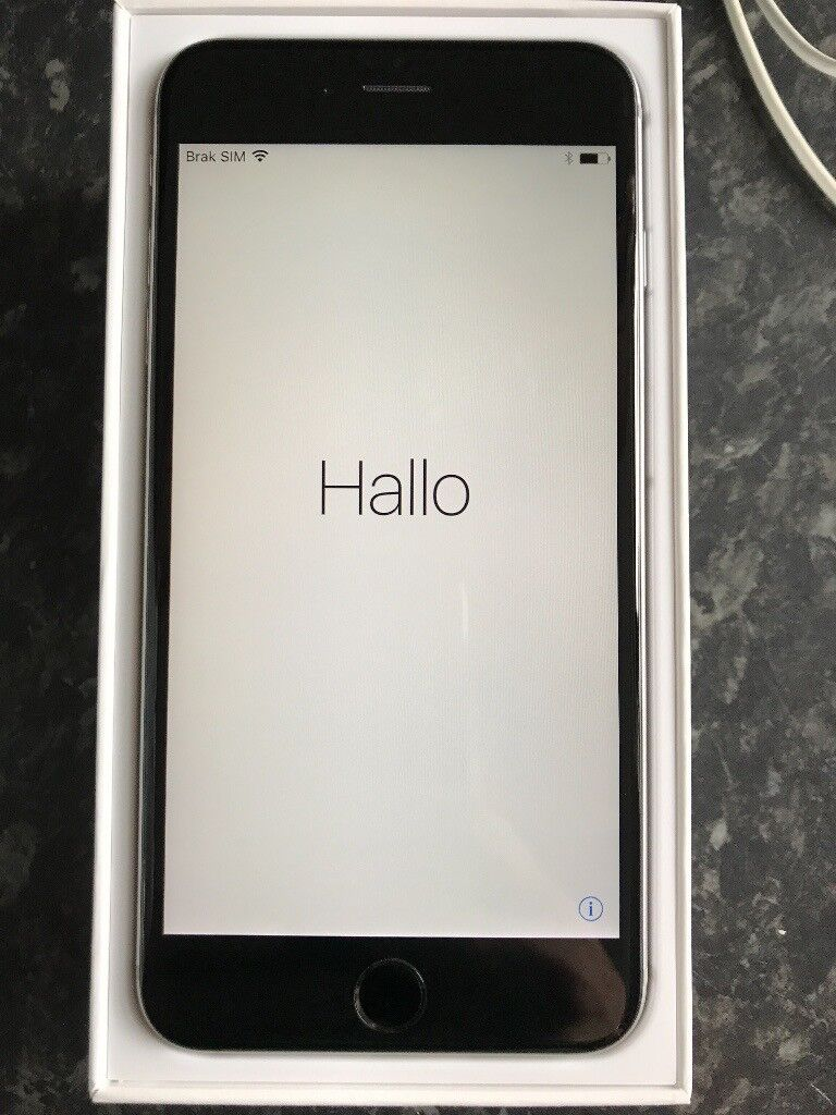 iPhone 6 plus, unlocked, space grey, 128 GBin Galashiels, Scottish BordersGumtree - iPhone 6 plus 128GB in space grey. Excellent condition. It was bought from giffgaff new and its unlocked. It was always in a cover. Im selling it as in original set ( earphones never used , charger, cable, documents an original box) and 2 x iPhone 6...