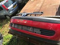 Corsa c red bumper