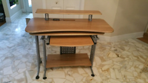 Multi position computer desk, excellent condition