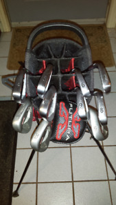 PING S55 IRONS RH GREEN DOT 4 - PW  + WEDGES 50,54,60 + EXTRAS