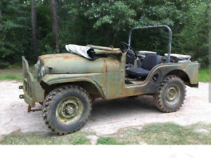 1959 M38A1 Military Willys Jeep