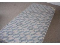 FOR SALE NEW UNUSED SINGLE BED SPRUNG MATTRESS BY HARVEYS