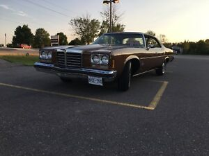 1974 Pontiac Parisienne Mint Shape Certified! Must Sell ASAP