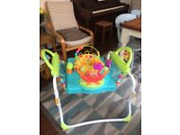 Baby jumperoo bouncer and walker