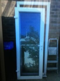 Brand new u pvc door and frame