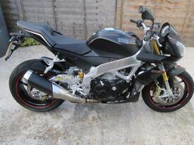 Aprilia tuono v4 super naked sports bike 1000cc