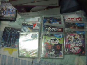 new 10 new ps3 games first $30 takes them great fun still sealed