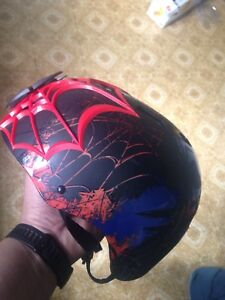 Spider-Man youth bike helmet used a couple times