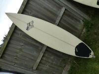 Bilbo 6'8 surfboard