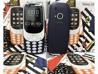 New NOKIA 3310 2017 Dual SIM 2MP Camera Mobile Phone - Blue No-0ffers
