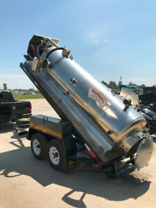 Low Profile Vac Dump Trailer/Jetter Available!