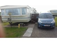 Willerby Granada 35 by 12, 2 bedroomed 6 berth static