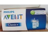 Avent Blue Classic+ Bottles 2-pack