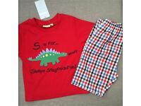 Boys dinasour pyjamas new with tags 18-24 months rrp £16.00