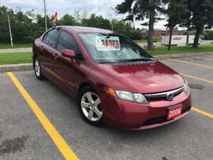 2006 Honda Civic- EX**** ONE OWNER *** CLEAN HISTORY ** LOW K*
