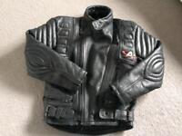 Children's Leather Akito Motorbike jacket