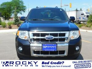 2010 Ford Escape Limited - BAD CREDIT APPROVALS