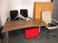 FREE OFFICE FURNITURE (collection only)