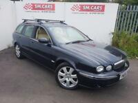 2006 06 JAGUAR X TYPE 2.2D SE 5 DOOR EST MOT JUN 2017 PX WELCOME