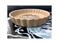 Whimsical Fidgety Pie Recipe Vintage Oven Dish, Pastry Retro Home Bakeware