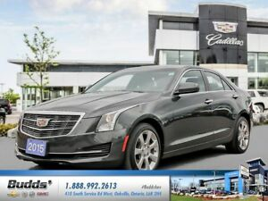 2015 Cadillac ATS 2.0L Turbo 0.9% for up to 24 months O.A.C.!
