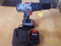 a NEW 18 v hammer drill