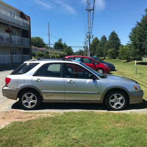 2002 Subaru Impreza Outback Sport Wagon