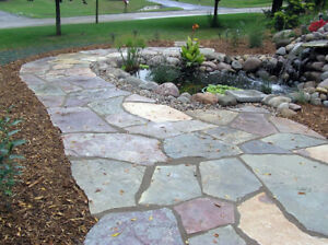 FLAGSTONE, PATHWAY AND GARDEN STONES - L.Martin Garden Centre