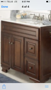Bathroom vanity - New