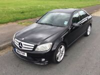 Mercedes-Benz C Class 2.1 C220 CDI BlueEFFICIENCY AMG SPORT 7G-Tronic 4dr,1 owner,HPI Clear,