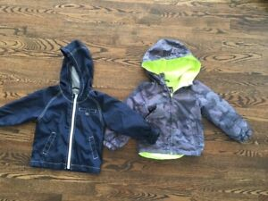 3T boys jackets - spring and fall combo