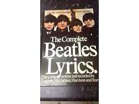 Rare Beatles book