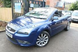 2008 (08 Plate) Ford Focus 2.0 Blue Convetable Low Mileage FSH Long MOT Finance
