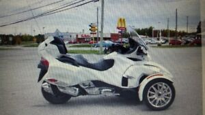 can am spyder limited 2015