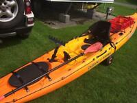 Prowler 13 fishing kayak