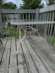 Patio table, no chairs