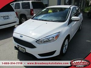 2015 Ford Focus POWER EQUIPPED SE - HATCH EDITION 5 PASSENGER 2.