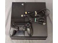 PS4 500g 2 controllers + 2 games