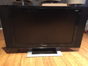 "27"" LCD TV with wall mount"