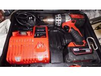 FOR SALE MILWAUKEE M18 COMBI DRILL