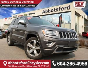 2015 Jeep Grand Cherokee Limited 5.7L V8 Engine!