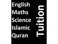 English/ Maths /Science/ Islamic/ Quran Tuition
