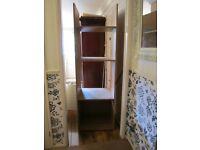 600mm Full Height Oak Coloured Oven Housing Kitchen Unit