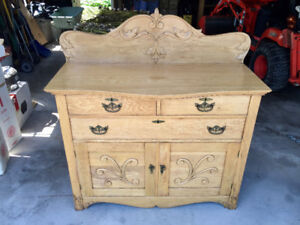 Antique Hutch or sideboard