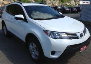 2015 Toyota RAV4 LE AWD HEATED SEATS BACK-UP CAMERA Clean Car Pr