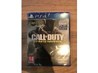 BRAND NEW Call of Duty : Infinite Warfare PS4 Sale or Swap