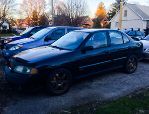 2002 Nissan Sentra SPEC V NEED GONE