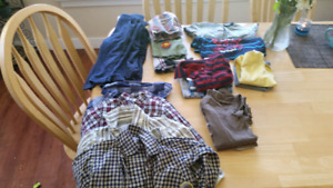 18-24 boy clothes!!  18 pieces!!